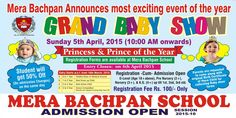 Admission Open at mera bachpan school