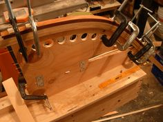 wood strip bending