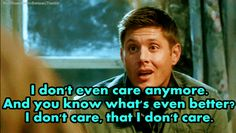hahaha...stoned Dean