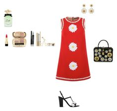 Dolce & Gabbanna's camomile by lilac-rose-1 on Polyvore featuring Dolce&Gabbana and Boutique Moschino