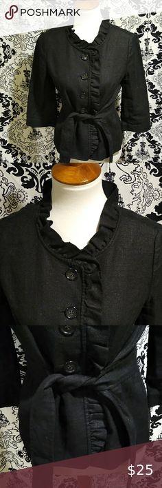 Womens Short Sleeve Long Dress Black Collar Work Carer BNIP Size 18 UK Eur 48