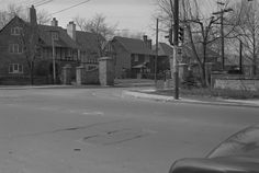BABY POINT RD., looking s.w. from Jane St.- 1954 Toronto Public Library