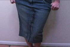 How to turn a pair of jeans into a jean skirt.  This might be fun to try for the girls, and then for mom if it works out.  Youtube also has a bunch of videos to check out before attempting.
