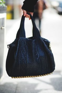 Jackie Au's studded Alexander Wang bag has us seeing stars — love.