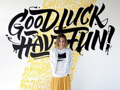 Calligraphy & Lettering. Murals on Behance