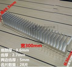 93.10$  Buy now - http://alix6w.worldwells.pw/go.php?t=32774114043 - Fast Free Ship  Aluminum alloy power amplifier radiator 300*300*49.5mm electronic high-power heatsink 93.10$