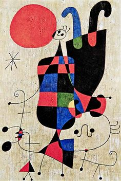 Thrill your walls now with a stunning Joan Miro print from the world's largest art gallery. Choose from thousands of Joan Miro artworks with the option to print on canvas, acrylic, wood or museum quality paper. Joan Miro Paintings, Famous Artists Paintings, Summer Art, Oeuvre D'art, Art Pictures, Art Lessons, Art History, Modern Art, Fine Art