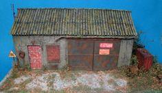 Le garage abandonné en O (1/43,5)