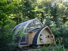 Hobbit Hole Chicken Coop & run in Cheshire, CT. AWESOME!
