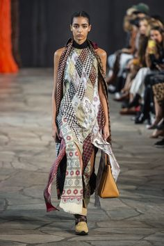 Dress yourself in a scarf is cool in spring 2019 Catwalk a87bffb953d92