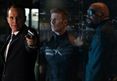 Agents of S.H.I.E.L.D React To Captain America: The Winter Soldier Twist