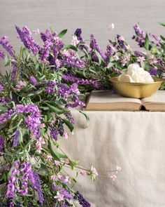Radiant lavender blo