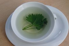 Natürlich und gesund-frischer Tee aus Brennnessellblättern