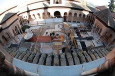 Circuito hidráulico del Patio de los Leones. Alhambra de Granada