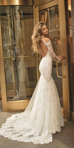 18 Unique & Hot Sexy Wedding Dresses ❤ See more: http://www.weddingforward.com/sexy-wedding-dresses-ideas/ #wedding #dresses #sexy