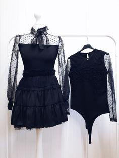 #szafanaulicy #zima2019 #zima Clothes, Black, Dresses, Fashion, Outfits, Vestidos, Moda, Clothing, Black People