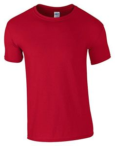 Gildan Heavy Cotton Toddler TShirt RED 5T -- You can find out more details at the link of the image. (This is an affiliate link) #BabyGirlTops