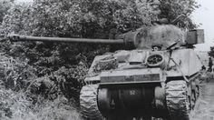 Sherman British Firefly Tank In action. #WorldWar2 #Tanks