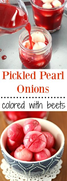 Fuss-free and easy Vinegar Onion recipe or Sirke wala pyaaz recipe. These onions get their beautiful color from red beets. A tangy and yummy accompaniment to any meal!