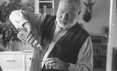 Oh, to have a drink with Ernest Hemingway.....