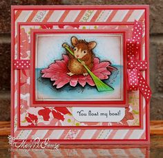 House Mouse Birthday Cards