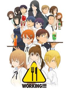 Fourth Visual for #Working!! 3rd Season Revealed - http://haruhichan.com/wpblog/43893/fourth-visual-for-working-3rd-season-revealed/ … #Wagnaria #anime