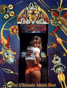 Moon War You said it! #retrogaming #arcade