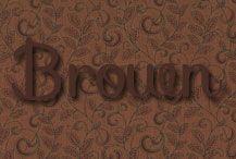 All things BROWN!