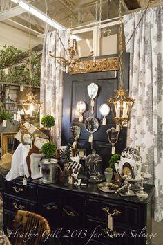 Antique Booth Decorating Ideas Monticello Antique Mall