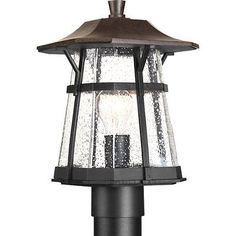 Other Outdoor Lighting 20509: Progress Lighting Derby Espresso Traditional Casual Outdoor W 1 Light 100W New -> BUY IT NOW ONLY: $155.52 on eBay!