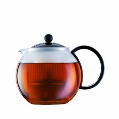 Bodum Assam Medium Tea Press with Plastic Filter Black 10 l 34 oz *** Details can be found by clicking on the image.Note:It is affiliate link to Amazon.