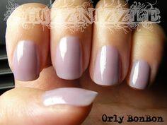 Shizznizzle: NOTD: Orly Bon Bon Sheer Nail Polish, Nails, Beauty, Color, Finger Nails, Ongles, Colour, Beauty Illustration, Nail