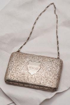 Victorian Sterling Silver Purse