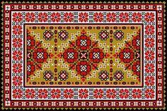 Gallery.ru / Фото #2 - Коврик в украинском стиле - grd