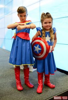 SDCC 2014: Marvel Share Your Universe Children's Costume Contest