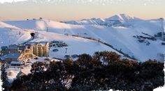 Snow Australia - looking over Mount Hotham Alpine Resort, Victoria #snowaus