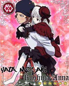 Yata Misaki and Kushina Anna. K (Project) #anime