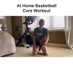 Strengthen your core at home with this basketball ab workout Basketball Tryouts, Basketball Videos, Basketball Practice, Basketball Skills, Soccer Drills, Basketball Stuff, Girls Basketball, Gym Workout For Beginners, Gym Workout Tips