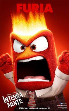 El es Furia, lo sientes cuando estas enojado, el es muy Furioso ¿Quieres Conocerlo? Mira Intensa Mente solo en Cines y en Teatros. #IntensaMente