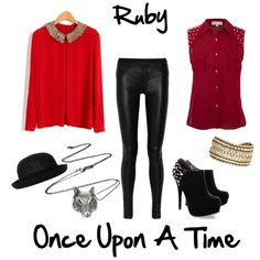 """""""Ruby - Once Upon A Time"""" by kelliharrison on Polyvore"""