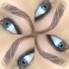 Brow tint, wax, trim, and tweeze #brows