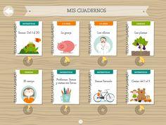 #Cuaderno Las plantas de Pupitre Class Dojo, Star Character, Apps, Multimedia, School, Tablets, Blog, Printables, Characters