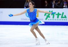 World Champion Evgenia Medvedeva of Russia first after short at Skate Canada 2016