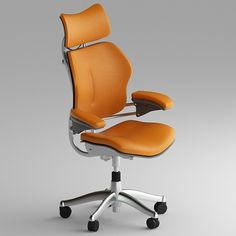 White Elegant Office Chair Design With Steel Material ~ http ...