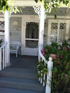 Lovely porch (1) From: White Ironstone Cottage, please visit