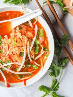 A 30 minute hearty Korean soup made with cabbage, kimchi and chicken. Super fragrant and packed full of spice and flavor. Gluten Free and Dairy Free. Paleo Keto Recipes, Soup Recipes, Vegetarian Recipes, Dinner Recipes, Free Recipes, Family Recipes, Family Meals, Drink Recipes, Easy Recipes