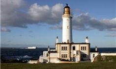 Corsewall Lighthouse Hotel is a functioning lighthouse in Scotland, first lit in 1817.