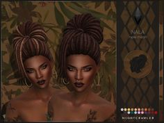 Nala hair by Nightcrawler at TSR