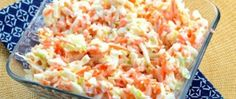 KFC Copycat Coleslaw - Oh yea! This coleslaw recipe is a spot-on KFC copycat coleslaw! If you like sweet and tangy chopped coleslaw this is definitely the recipe to use. Copycat Kfc Coleslaw, Vegan Coleslaw, Coleslaw Salat, Law Carb, Top Secret Recipes, Kfc Secret Recipe, Summer Side Dishes, Cooking Recipes, Skinny Recipes