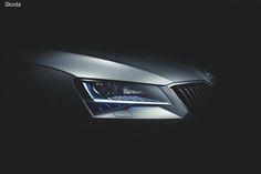 Компания Skoda представила последнюю серию тизеров нового поколения Superb перед официальной премьерой, которая состоится в Праге 17 февраля.